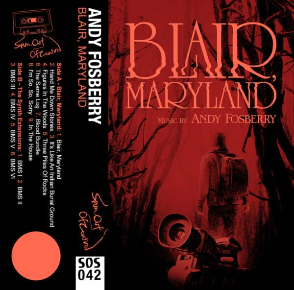 Andy Fosberry Blair Maryland cassette cover