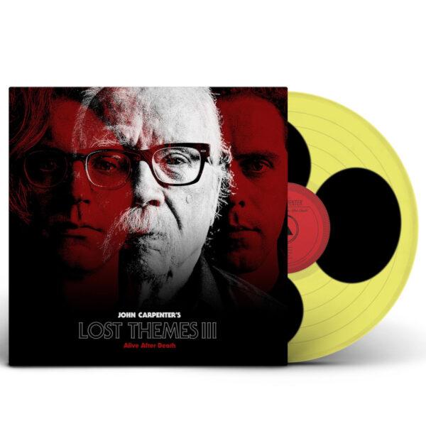 John Carpenter lost themes vinyl