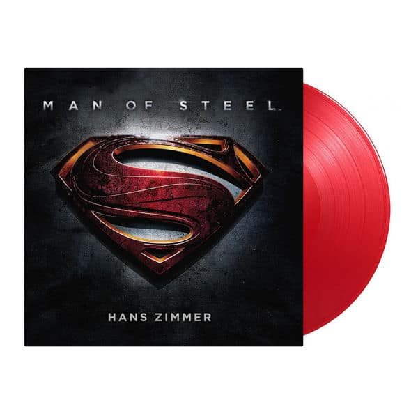 man of steel red vinyl