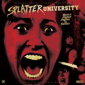 Splatter university vinyl