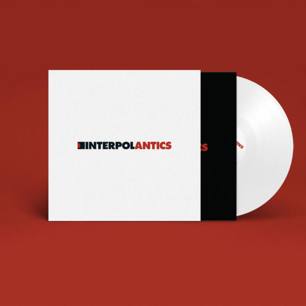 interpol antics white vinyl