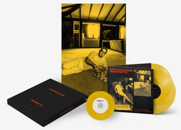 morricone yellow vinyl